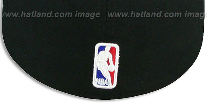 Heat 'NBA-CHASE' Black Fitted Hat by New Era