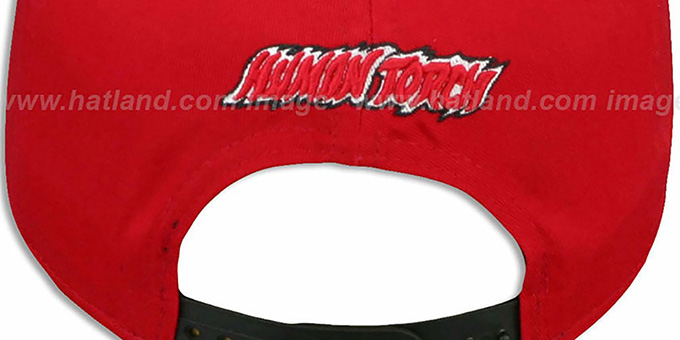 Miami Heat SIDE-TEAM HUMAN TORCH SNAPBACK Hat by New Era c5d6b22c051d