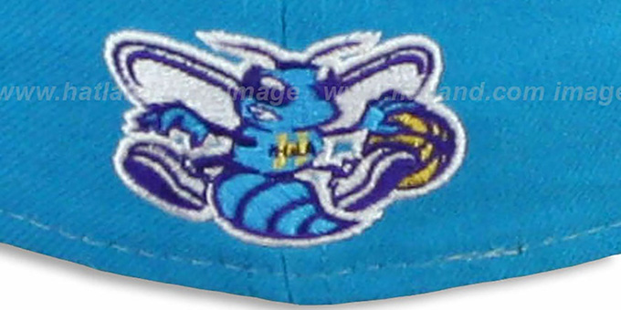 Hornets 'HERO-HCL' Teal-Purple Fitted Hat by New Era