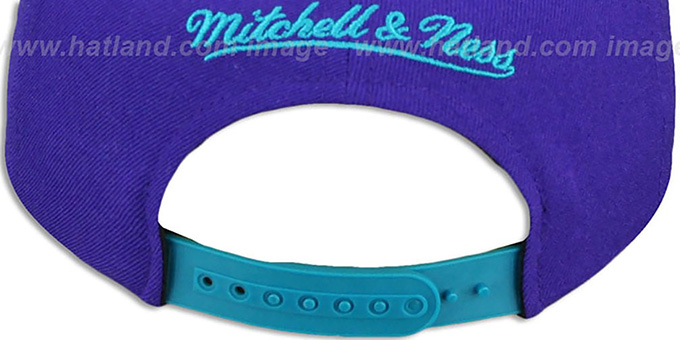 Hornets 'IN-THE-STANDS SNAPBACK' Hat by Mitchell & Ness