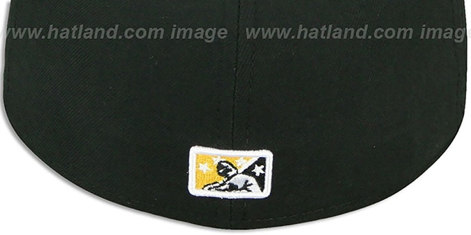 Hot Rods 'PERFORMANCE ALT-1' Black Fitted Hat by New Era