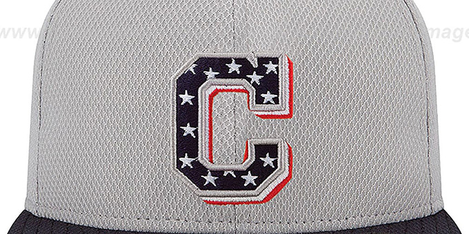 Indians 2013 'JULY 4TH STARS N STRIPES' Hat by New Era