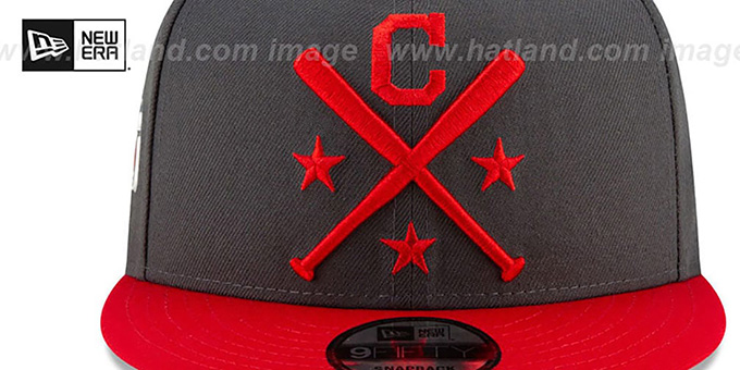 Indians '2019 MLB ALL-STAR WORKOUT SNAPBACK' Hat by New Era