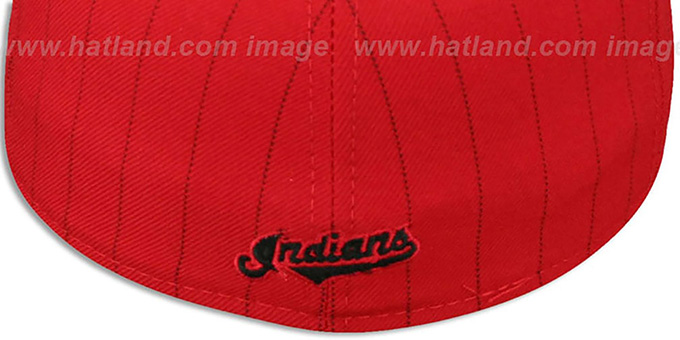 Indians 'FABULOUS' Red-Black Fitted Hat by New Era