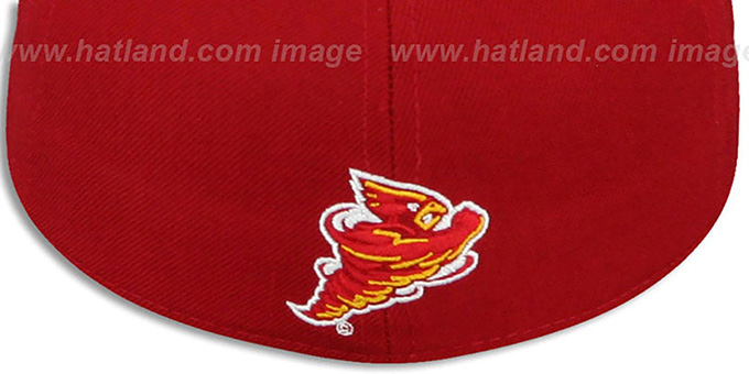 Iowa State 'DH - STATE' Red Fitted Hat by Zephyr