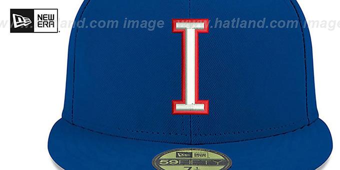 cb41e344b56978 Italy PERFORMANCE WBC-2 Royal Hat by New Era