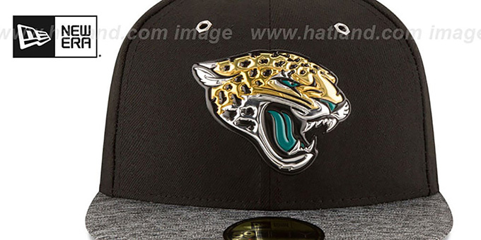 Jacksonville Jaguars 2016 NFL DRAFT Fitted Hat by New Era a4c0caa560f