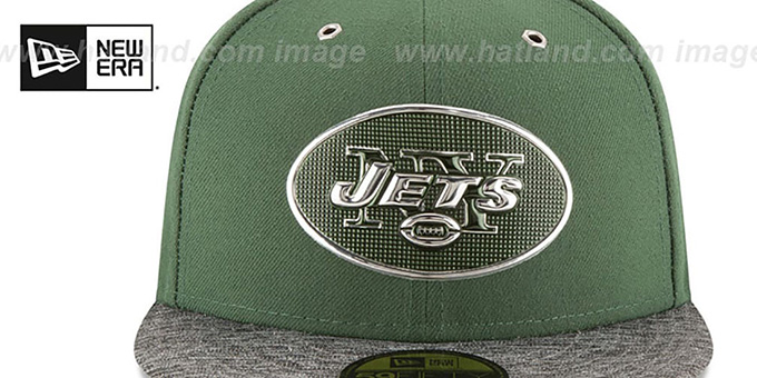 Jets '2016 NFL DRAFT' Fitted Hat by New Era
