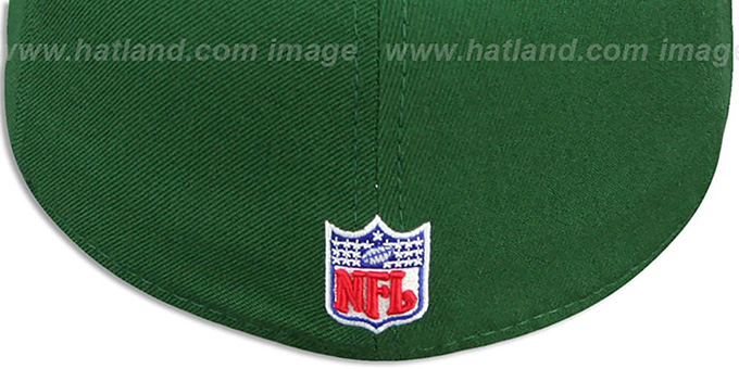 Jets 'COACHES-2' Green Fitted Hat by Reebok