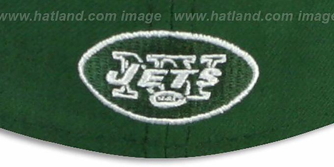 Jets 'NFL FELTN' Green Fitted Hat by New Era