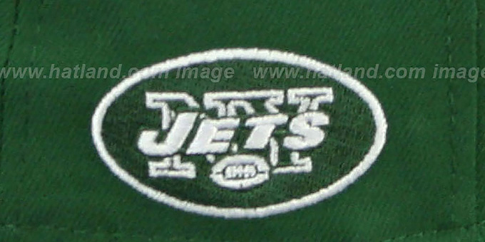 Jets 'NFL ONFIELD DRAFT' Green Fitted Hat by New Era
