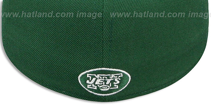 Jets 'NFL-SHIELD' Green Fitted Hat by Reebok