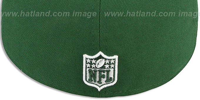 Jets 'NFL-TIGHT' Green-White Fitted Hat by New Era