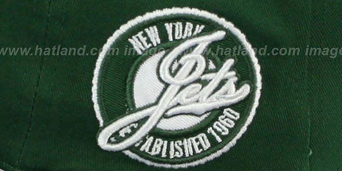 Jets 'SAID SNAPBACK' Green-White Hat by New Era