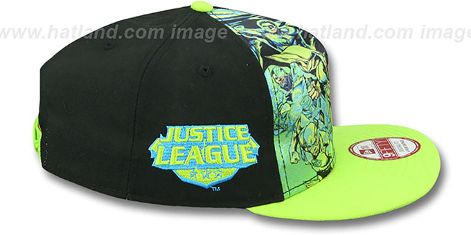 Justice League 'TEAM STANCE SNAPBACK' Hat by New Era