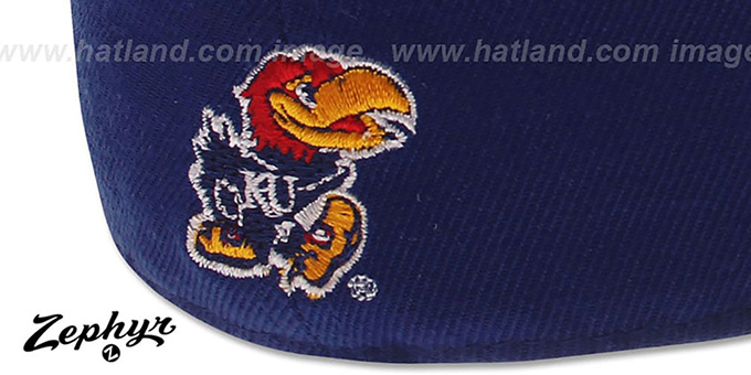 Kansas 'DH 2' Royal Fitted Hat by Zephyr