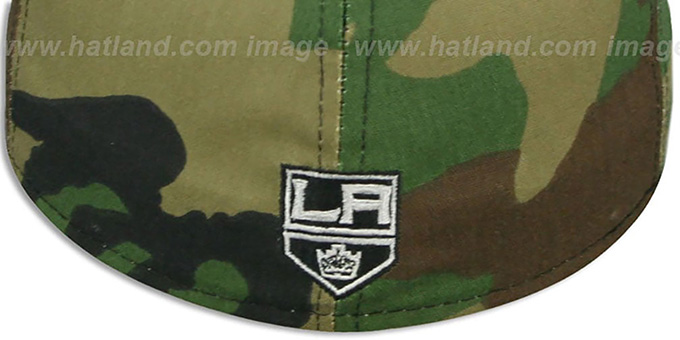 Kings 'ARMY CAMO' Fitted Hat by New Era