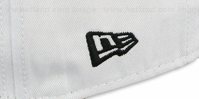 Kings 'BIGSIDE A-FRAME SNAPBACK' White-Black Hat by New Era