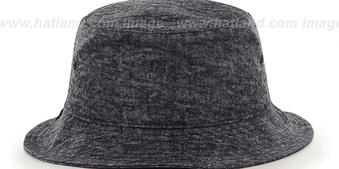 Kings 'LEDGEBROOK BUCKET' Black Hat by Twins 47 Brand