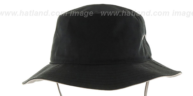 Kings 'VINTAGE KIRBY BUCKET' Black Hat by Twins 47 Brand