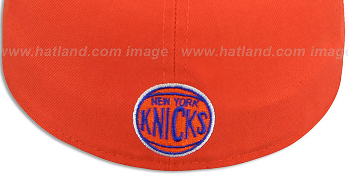 Knicks 'PROFILIN' Orange-Royal Fitted Hat by New Era