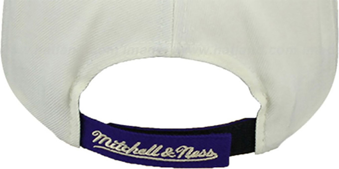 Lakers 'CREAMTOP STRAPBACK' Hat by Mitchell & Ness