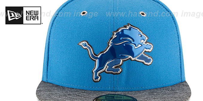 Detroit Lions 2016 NFL DRAFT Fitted Hat by New Era be324b0cbca