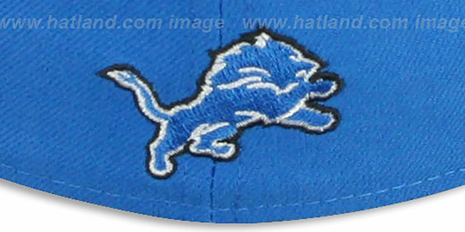 Lions 'NFL FELTN' Blue Fitted Hat by New Era