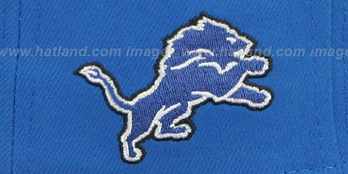 Lions 'NFL ONFIELD DRAFT' Blue Fitted Hat by New Era