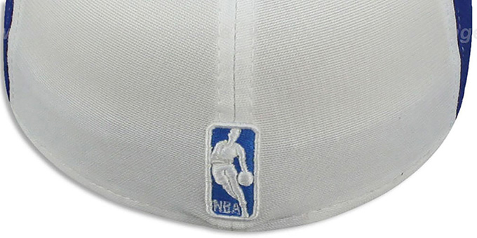 Magic 'PINWHEEL' White-Royal Fitted Hat by New Era