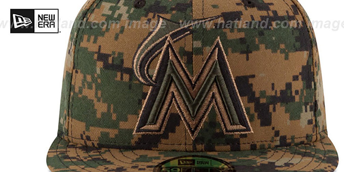 Marlins 2016 MEMORIAL DAY 'STARS N STRIPES' Hat by New Era
