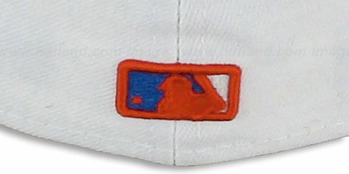Miami Marlins 2T TEAM-BASIC White-Orange Hat by New Era 9471a611c7d8