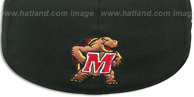 Maryland 'MARYLAND FLAG FLEX' Black-Flag Hat by New Era