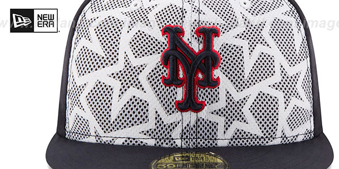Mets '2016 JULY 4TH STARS N STRIPES' Fitted Hat by New Era