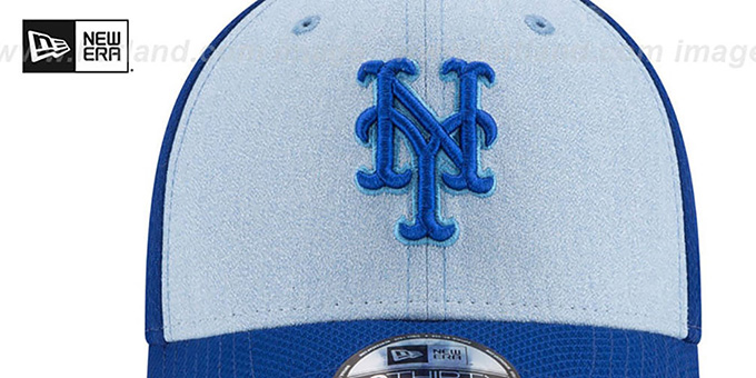 Mets '2018 FATHERS DAY FLEX' Sky-Royal Hat by New Era