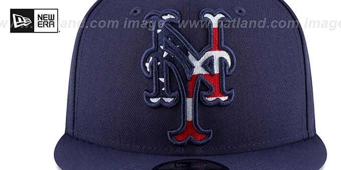Mets 'FLAG FILL INSIDER SNAPBACK' Navy Hat by New Era