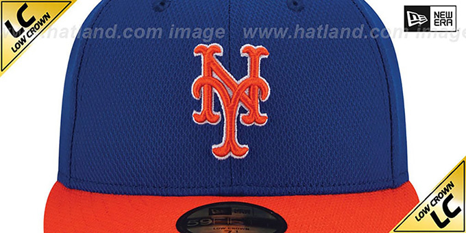 Mets 'LOW-CROWN' ALTERNATE-2 Fitted Hat by New Era
