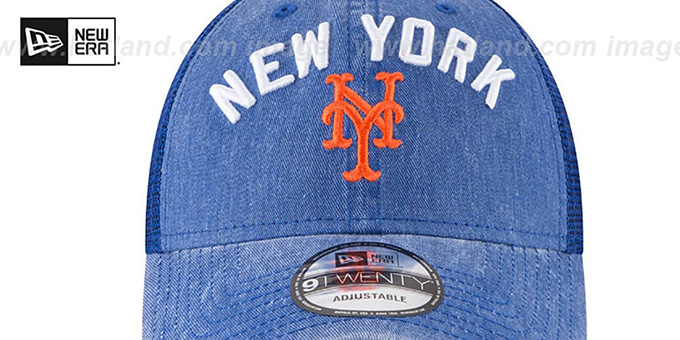 Mets 'RUGGED-TEAM TRUCKER SNAPBACK' Royal Hat by New Era