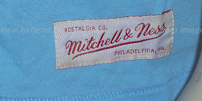 Mitchell & Ness Phillies 'Fan Vintage' Sky T-Shirt
