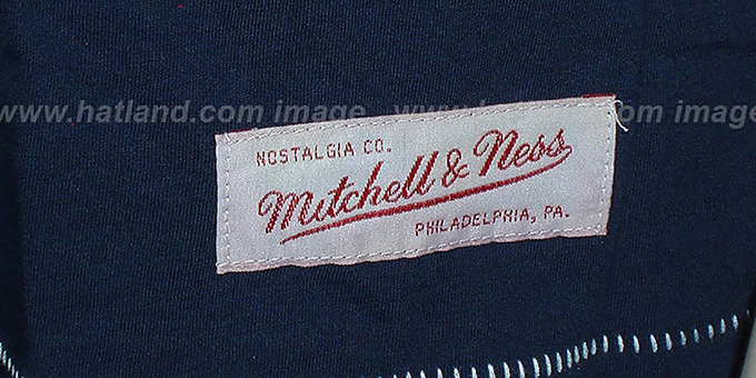 Mitchell and Ness Red Sox 'Fan Vintage' Navy T-Shirt