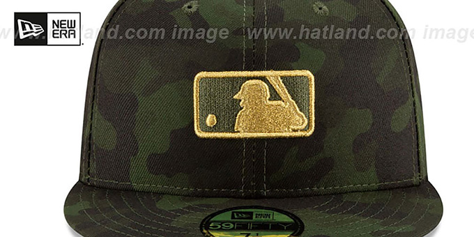 MLB Umpire 2019 ARMED FORCES 'STARS N STRIPES' Hat by New Era