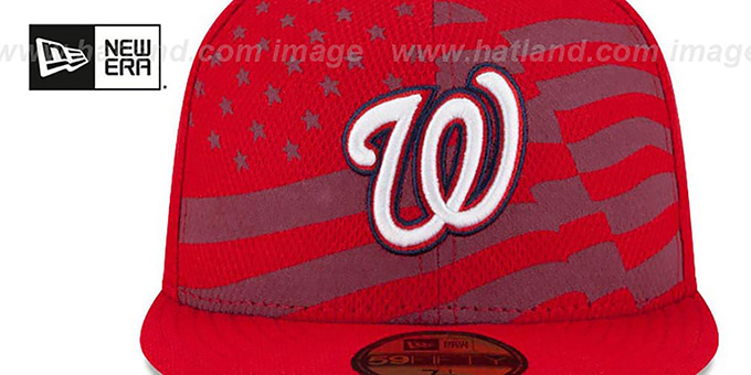 Nationals '2015 JULY 4TH STARS N STRIPES' Hat by New Era