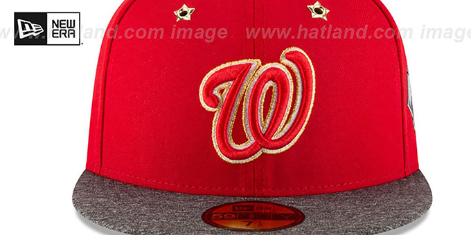 Nationals '2016 MLB ALL-STAR GAME' Fitted Hat by New Era