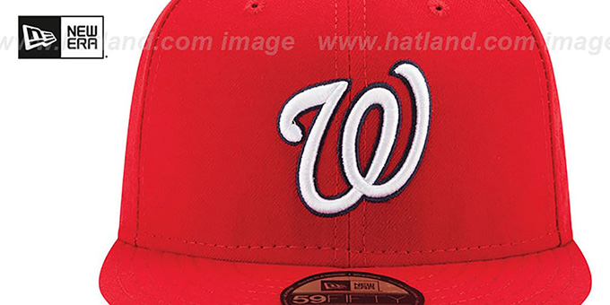 Nationals 2016 'PLAYOFF GAME' Hat by New Era
