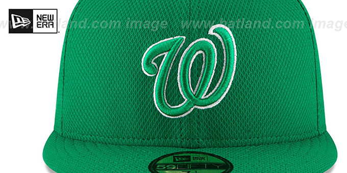 Nationals '2016 ST PATRICKS DAY' Hat by New Era