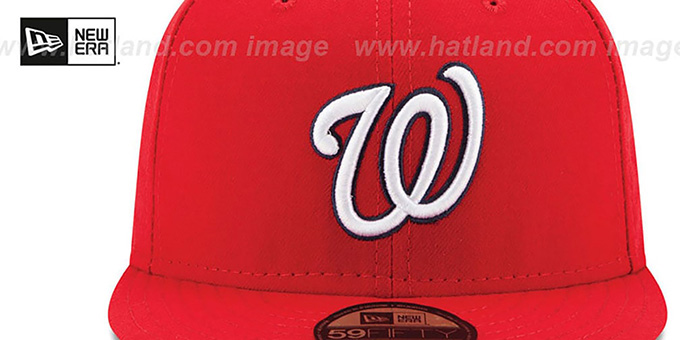 Nationals '2017 POSTSEASON GAME' Hat by New Era