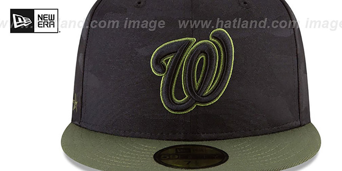 Nationals 2018 MEMORIAL DAY 'STARS N STRIPES' Hat by New Era