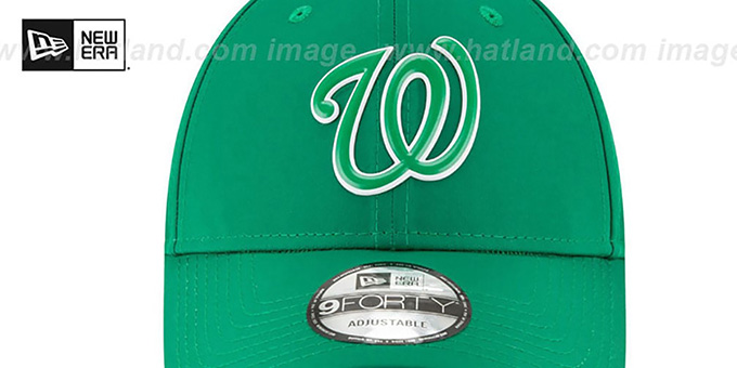 Nationals '2018 ST PATRICKS DAY 940 STRAPBACK' Hat by New Era