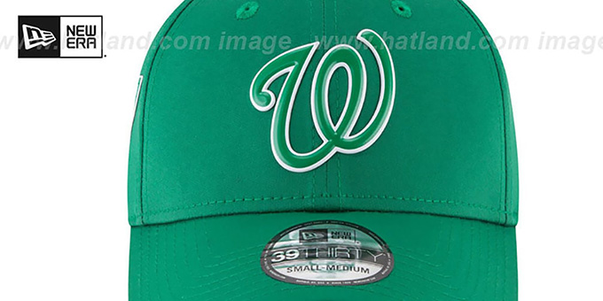 Nationals '2018 ST PATRICKS DAY FLEX' Hat by New Era