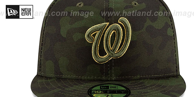 Nationals 2019 ARMED FORCES 'STARS N STRIPES' Hat by New Era